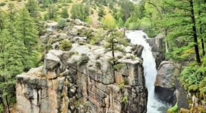 You Can Practically Drive Right Up To The Beautiful Shell Falls In Wyoming