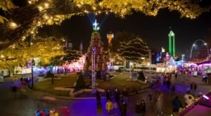 Amusement Park Rides And Holiday Lights Make Six Flags Over Texas A Magical Place To Celebrate Christmas