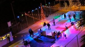 The London Bridge Ice Skating Rink In Arizona Is Positively Enchanting