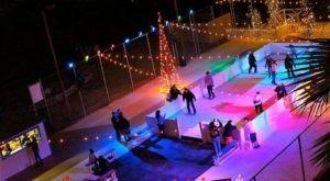 The London Bridge Ice Skating Rink In Arizona Is Positively Enchanting