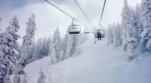 The Snowbowl Gondola In Arizona Will Take You Through A Snowy Mountain Wonderland