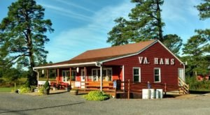 The Best Country Ham Sandwiches Can Be Found At Edwards Ham Shop In Surry, Virginia