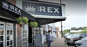 Dine In A Former Theater At The Rex, A Movie-Themed Restaurant In Maryland