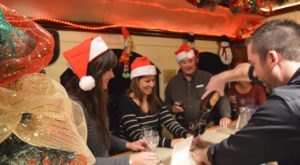 Climb Aboard A Holiday Wine Train On The Grapevine Vintage Railroad In Texas
