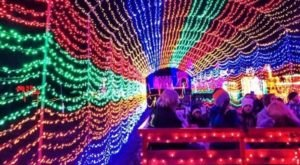 Santa's Wonderland Is One Of The Biggest And Brightest Christmas Light Displays In Texas