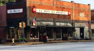 U.G. White Mercantile In Alabama Will Transport You To Another Era