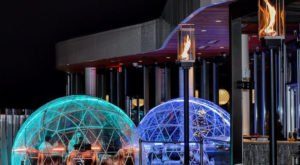 Hang Out In An Igloo At This One-Of-A-Kind Ohio Rooftop Lounge