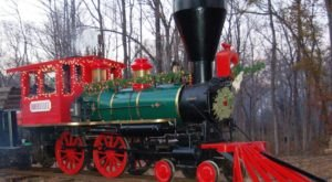 Climb Aboard The Christmas Express Train On Jefferson Railway In Texas For An Enchanting Holiday Adventure