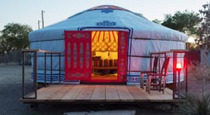 El Cosmico Is A Quirky Yurt Campground In The Remote West Texas Desert