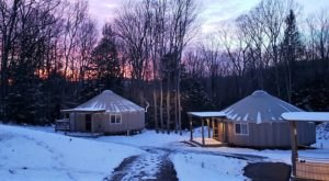 You'll Find A Luxury Glampground At Savage River Lodge In Maryland, It's Ideal For Winter Snuggles And Relaxation