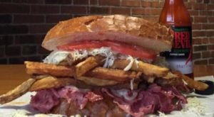Bite Into A Scrumptious Pittsburgh-Themed Sandwich At This Unassuming Eatery Near Pittsburgh