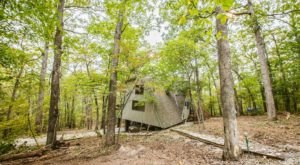 Have A Luxurious Night At Indian Pipe Cove, A Chalet In The Treetops of Missouri