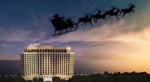 The Beau Rivage Resort And Casino In Mississippi Gets All Decked Out For Christmas Each Year