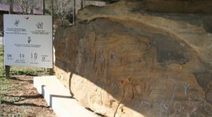 At Least 8 Different Languages Are Carved Into The Red Bird River Petroglyphs Rock In Kentucky
