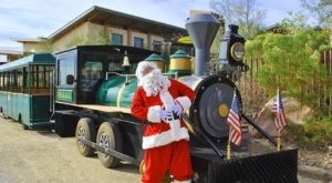 Nevada's Holiday Train Ride At Springs Preserve Is All You Need This Season