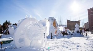 Seeing The Massive Snow Sculptures In The Small Town Of Driggs, Idaho Will Be Your Favorite Winter Memory