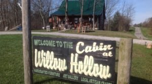 You'll Find One-Of-A-Kind Crafts And Handmade Furniture At The Cabin At Willow Hollow In Ohio