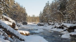 One Of The Best Winter Hikes In Minnesota Can Be Found At Banning State Park