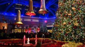 The Garden Christmas Light Displays At The Bellagio In Nevada Is Pure Holiday Magic