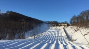 The Longest Snow Tubing Run In Virginia Can Be Found At Wintergreen Resort