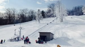 One Of The Longest Snow Tubing Runs In Michigan Can Be Found At Snow Snake Ski And Golf