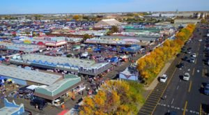 You Could Spend Hours At Mile High Flea, A Giant Outdoor Marketplace In Colorado