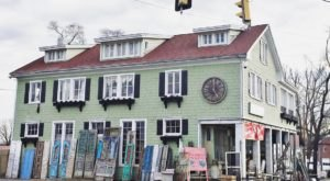Feel Like You're On The Set Of A Holiday Film When You Take A Trip To The Old Lucketts Store In Virginia