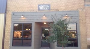 Enjoy A Coffee Inside A Former Bank Vault At The Medina Street Vault In Small-Town Nebraska