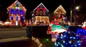 New York's Charming Town Of White Plains Looks Like A Gingerbread Village Come To Life