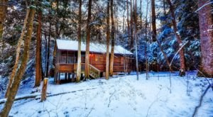 West Virginia's Best Winter Camping Awaits You At Opossum Creek Retreat