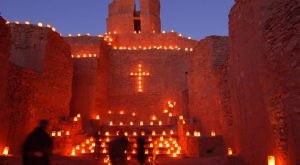 You Can't Pass Up A Trip To See The Glowing Lights At Jemez Historic Site In New Mexico