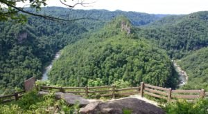 Virginia's Breaks Interstate Park Will Soon Be Home To The Longest Swinging Pedestrian Bridge In North America