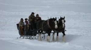 This 30-Minute Sleigh Ride Near Pittsburgh Takes You Through A Winter Wonderland