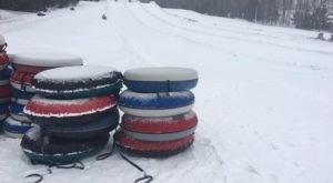 This Winter, Go Snow Tubing At A True Hidden Gem, Ski Sawmill Family Resort In Pennsylvania