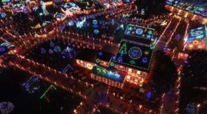 The Pennsylvania Christmas Display That's Been Named Among The Most Beautiful In The World