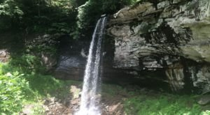 Falls Of Hills Creek Trail Is A Beginner-Friendly Waterfall Trail In West Virginia That's Great For A Family Hike