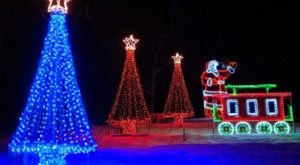 Stroll Through An Enchanting Christmas Forest In Ohio With Over One Million Holiday Lights