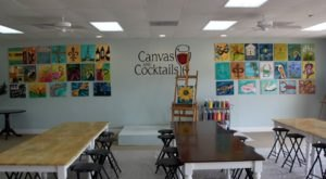 Sip A Glass Of Wine While You Create A Masterpiece At Canvas and Cocktails Paint And Sip In Mississippi