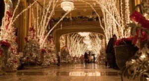 The Waldorf Wonderland Lobby In New Orleans Is A Holiday Tradition That Dates Back To The 1930s