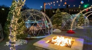 Hang Out In An Igloo At Zisters, Wisconsin's Very Own Winter Wonderland