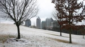 It's Impossible To Forget The Year Atlanta, Georgia Saw Its Single Largest Snowfall Ever
