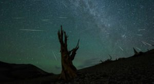 Next Month, Watch The Nevada Skies Light Up During One Of The Best Meteor Showers of The Year
