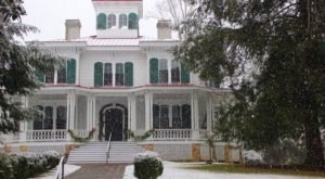 Walk Through A Victorian Christmas Masterpiece At Hardman Farm, The Most Unusual House In Georgia