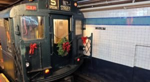Ride New York's Holiday Nostalgia Trains For A Trip Back In Time This December