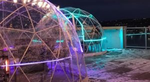 Stay Warm And Cozy This Season At AC Hotel Cincinnati At The Banks, A Rooftop Igloo Bar In Ohio