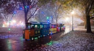 Ride A Magical Christmas Lights Train And Enjoy Even More Holiday Magic At Southern Lights In Kentucky