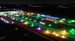 Drive Through Thousands Of Lights At Werner Park In Nebraska With This Holiday Display