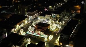 See Spectacular Christmas Lights From Above In Arkansas With This Helicopter Christmas Light Tour