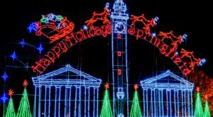 Drive Through A Winter Wonderland Of Lights At Bright Lights In This Massachusetts Park
