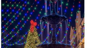 Even The Grinch Would Marvel At The Christmas Light Display At The Natchitoches Christmas Festival In Louisiana